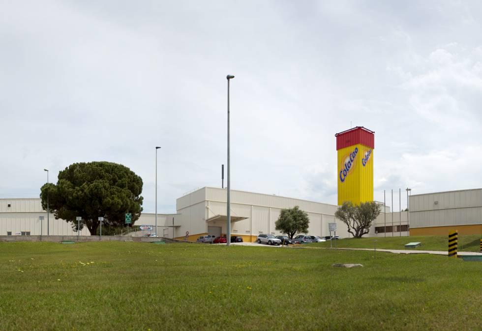 La fábrica de ColaCao en Parets del Vallès (Barcelona).