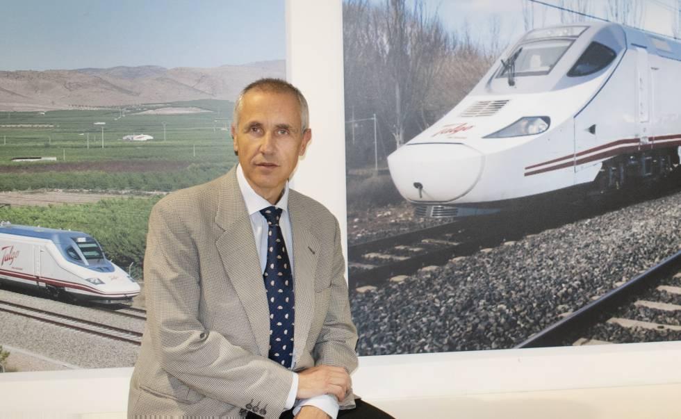 Emilio García, director de Innovación de Talgo.