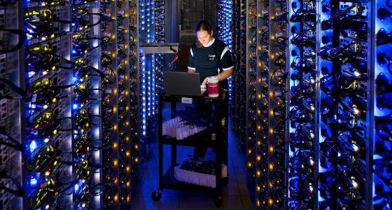 Próxima fronteira na Internet: a 'nuvem'