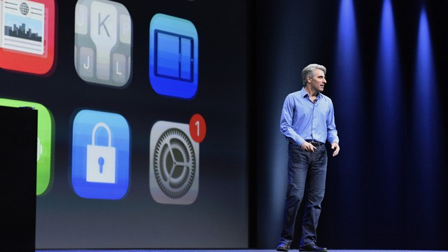 Craig Federighi, vice-presidente de Software da Apple.