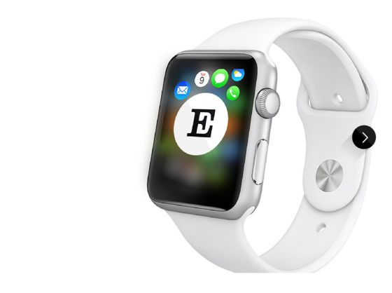 La aplicación de EL PAÍS, disponible para el Apple Watch