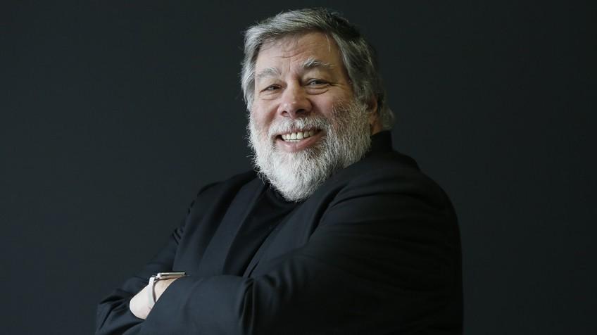 Steve Wozniak, cofundador de Apple, em Madri.