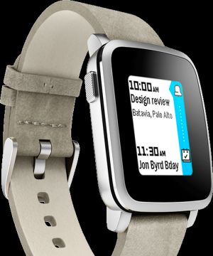 Un modelo de Pebble Time.