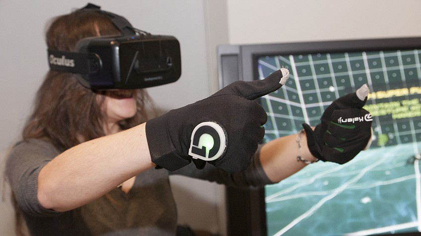 Ver y oler lo que no existe, la realidad virtual española