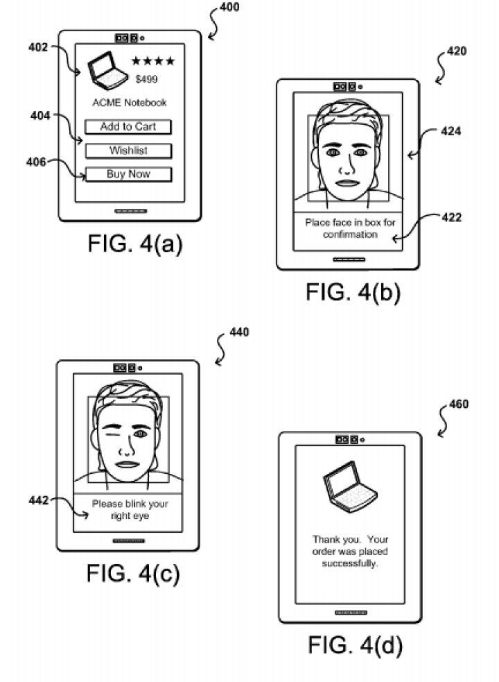 Proceso de verificación de pagos por selfis de Amazon