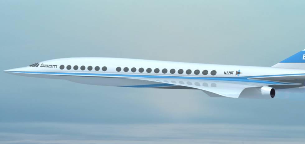 Conheça o avião de Richard Branson que cruzará o Atlântico em quatro horas