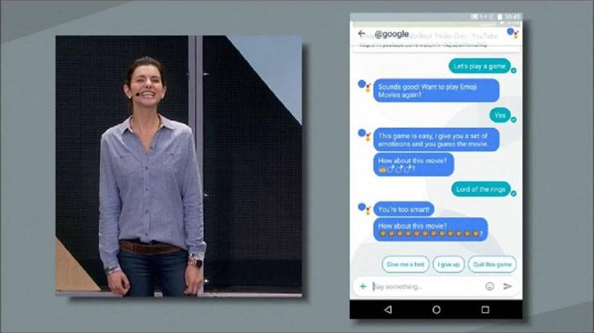 Google muestra el 'whatsapp' del futuro con Allo