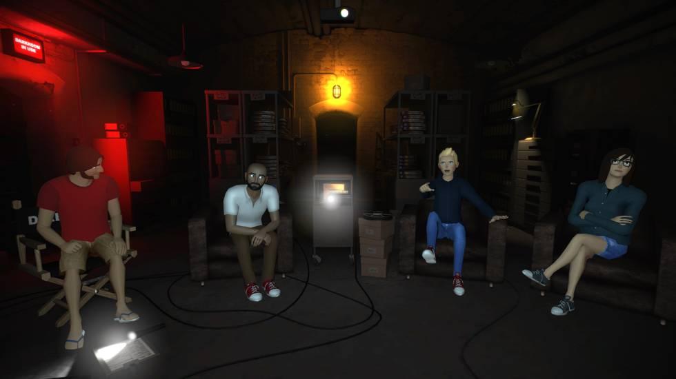 vTime, una de las primeras experiencias sociales de realidad virtual para Gear VR y Google Cardboard.