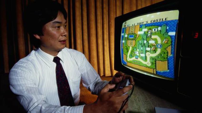 Shigueru Miyamoto, criador do Super Mario
