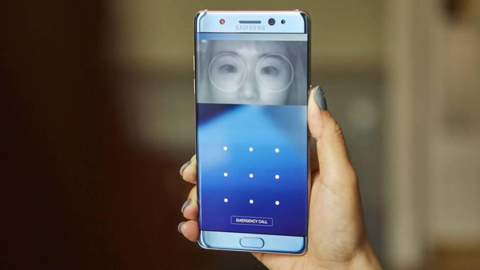 Samsung Galaxy Note 7: se abre con el iris y funciona sobre mojado