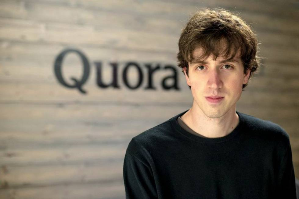 Adam D'Angelo, founder and managing director of Quora.