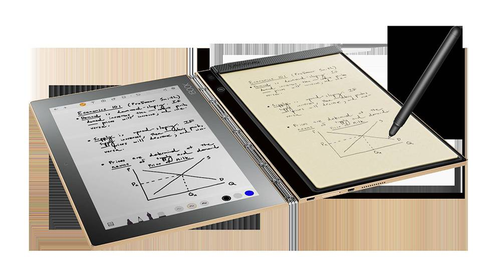Lenovo reinventa la tableta con Yoga Book