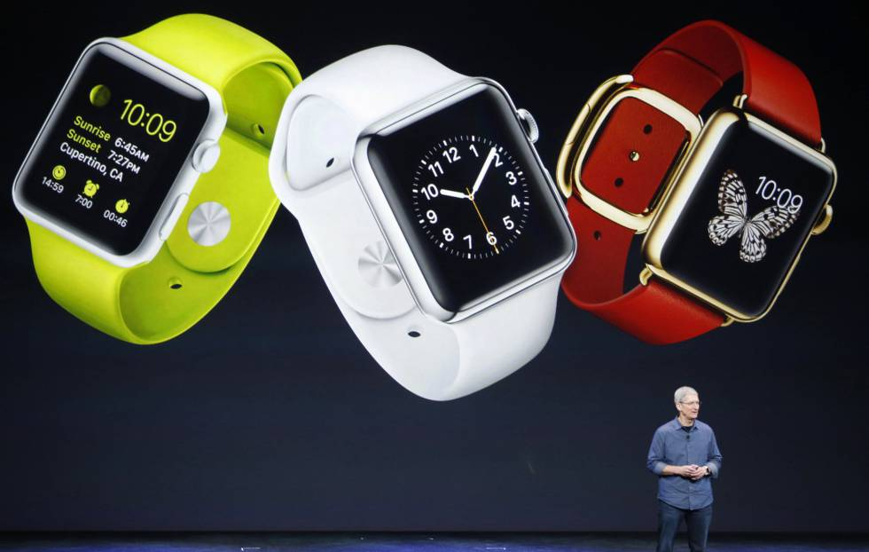 Tim Cook presenta el Apple Watch 2.