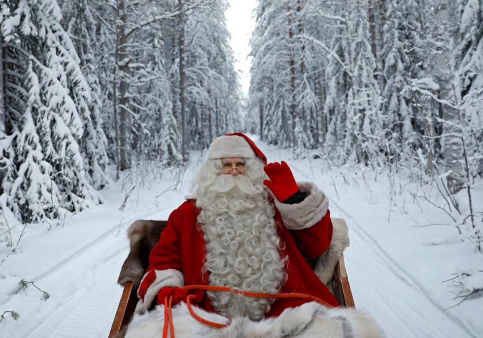 Fotos Papa Noel Reyes Magos.Navidad Cinco Apps Para Llamar A Papa Noel Y A Los Reyes