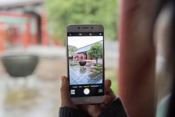 OPPO ha centrado su atractivo comercial en la fotografía.