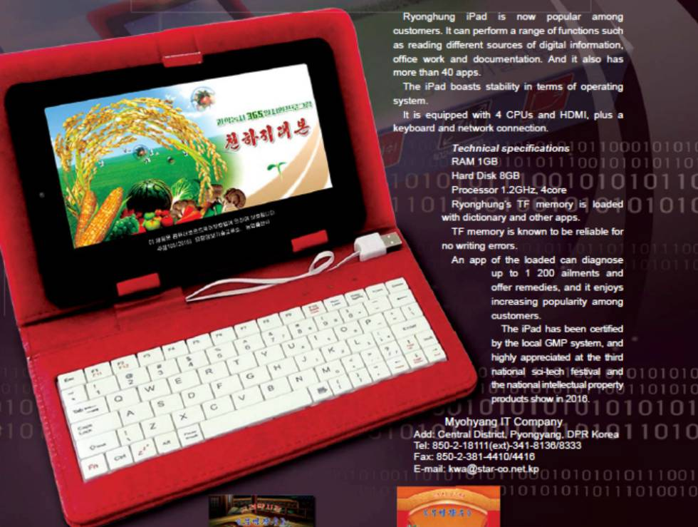 54cf6ca00 Un iPad hecho en Corea del Norte | Tecnología | EL PAÍS