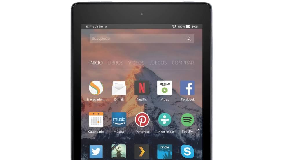 Fire HD 8, la tableta multimedia barata
