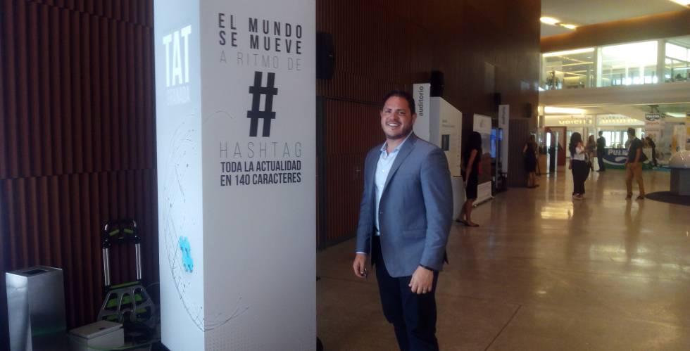 Joel Lunenfeld, en el Talking About Twitter 2017.