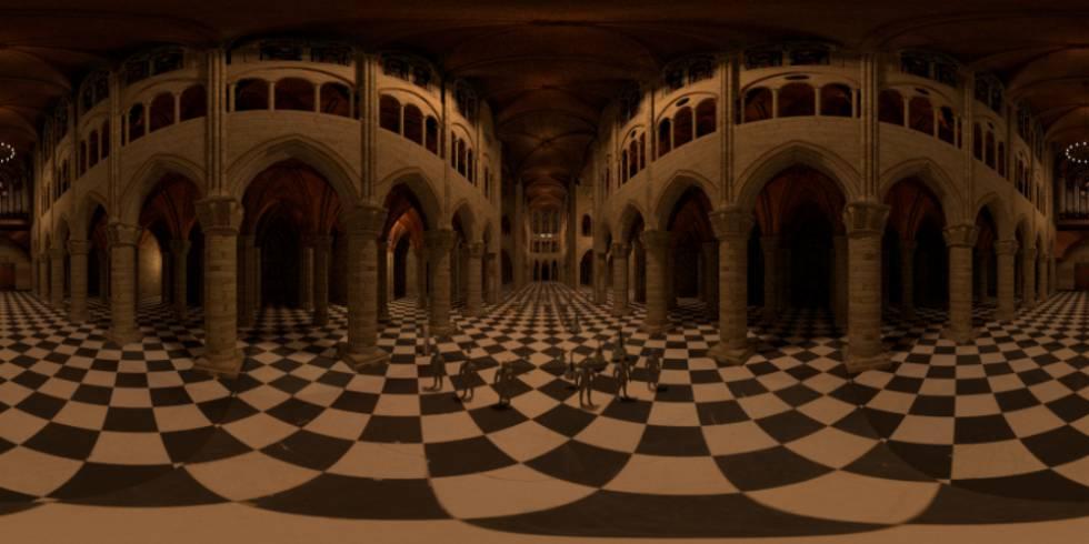 Un fragmento de la 'orquesta fantasma' de Notre Dame.