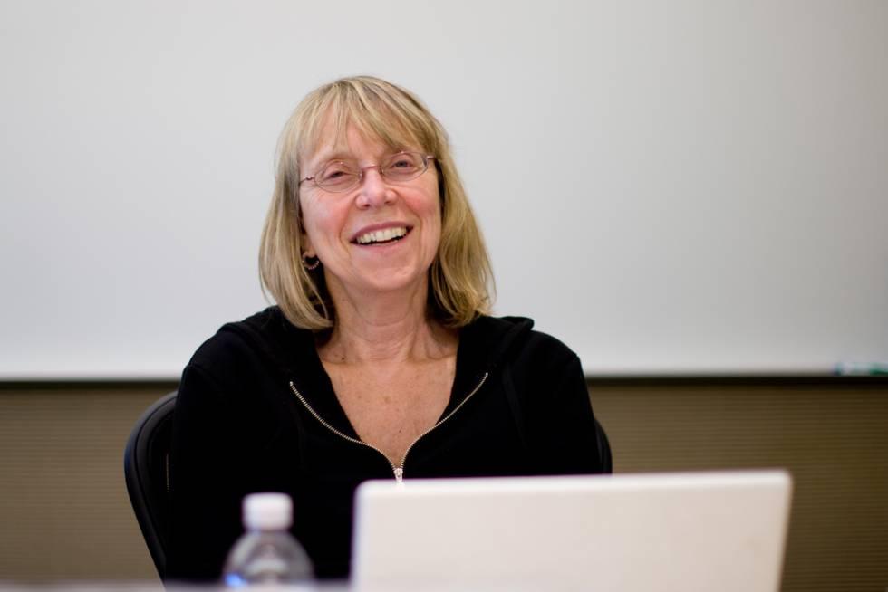 La periodista Esther Wojcicki.