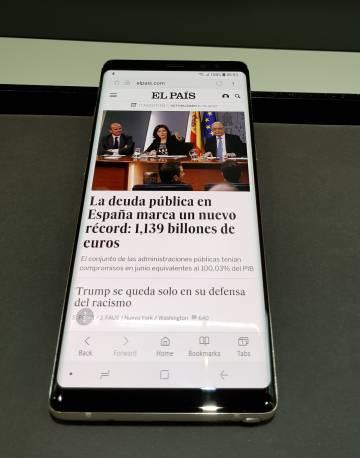 Samsung Galaxy Note 8: cámara dual y pantalla infinita para redimirse del pasado