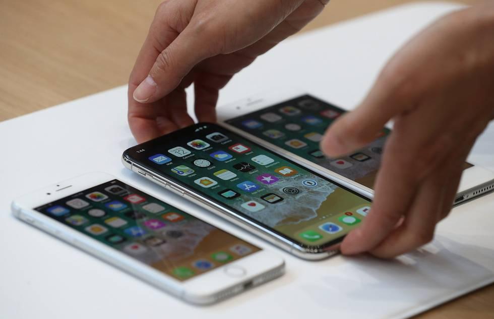 Los nuevos iPhone 8, iPhone X y iPhone 8S.