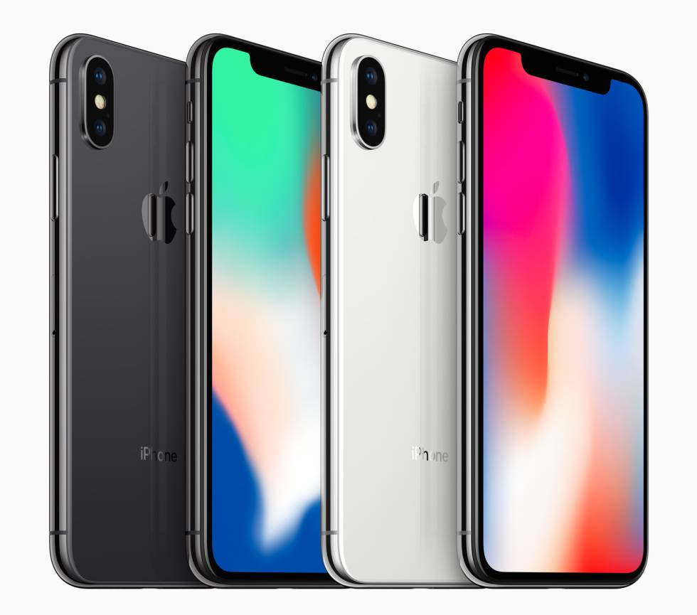 Nuevo iPhone X de Apple.