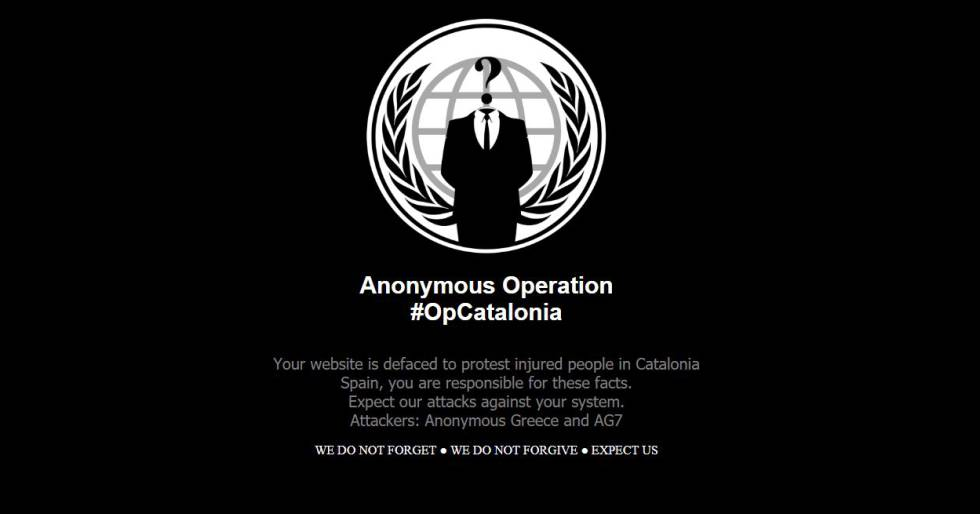 A message posted by Anonymous about Catalonia.