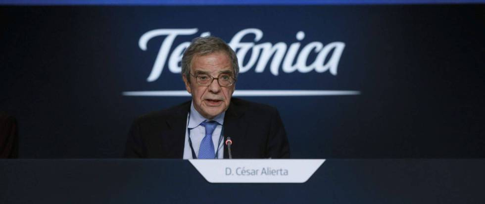 César Alierta, presidente de la Fundación Telefónica.