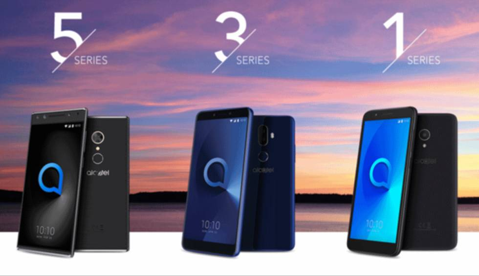 MWC18: Alcatel lleva la pantalla total a todos sus móviles ...