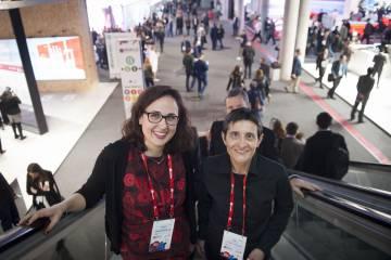 Vanessa Estorach y Celia Díaz, de Women in Mobile.