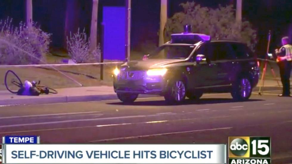 Primer atropello mortal de un coche sin conductor
