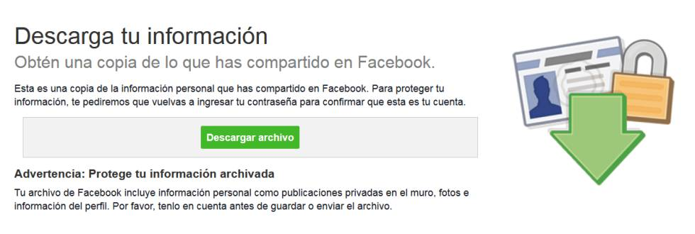 Captura de pantalla de Facebook.