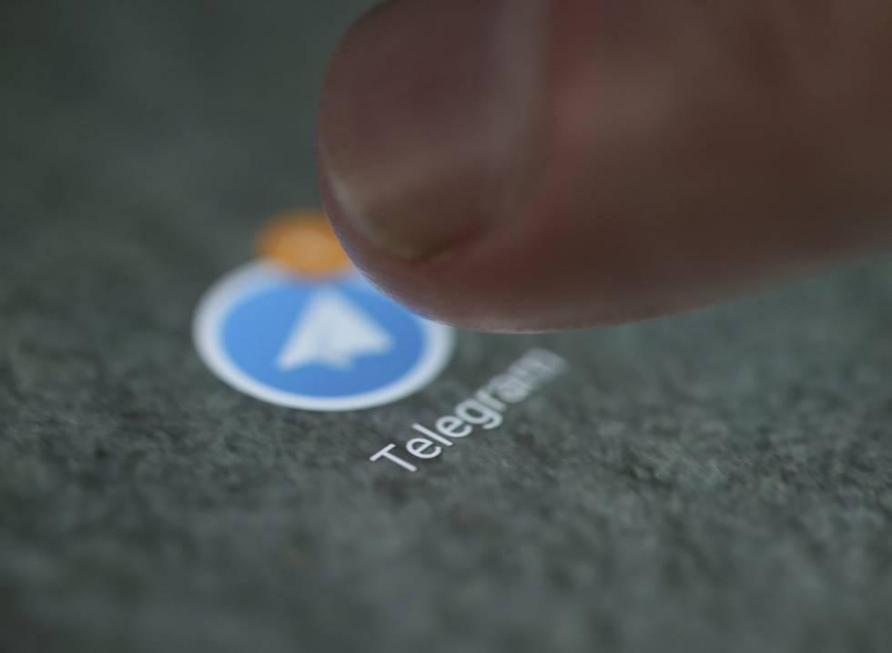 Logo de la aplicación de mensajería encriptada Telegram