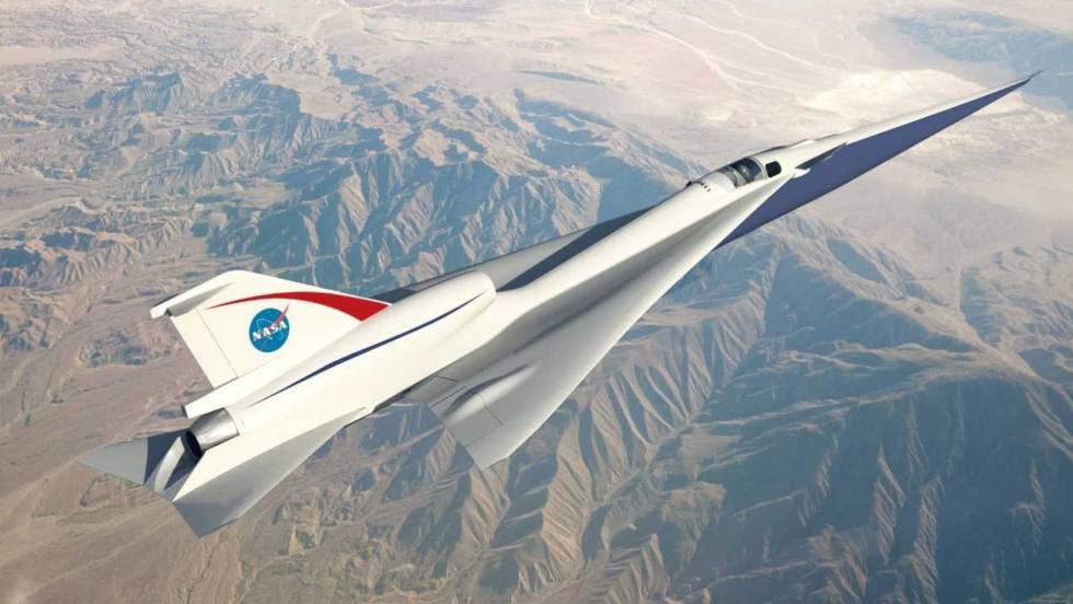 El gran desafío del avión supersónico silencioso que ha encargado la NASA
