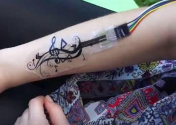 Tatuajes Sonoros Un Vinculo De Tinta De Lo Mas Tecnologico