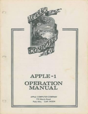 Subastado un Apple 1 de 42 años por 318.736 euros
