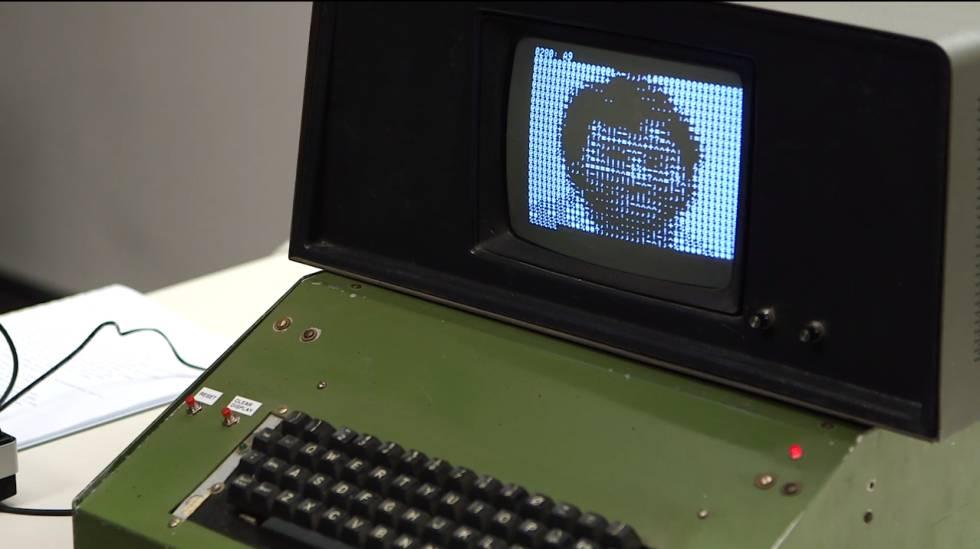 Ordenador Apple 1 subastado por Christies el pasado año.