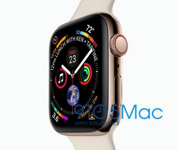 Imagen filtrada del Apple Watch de cuarta generación