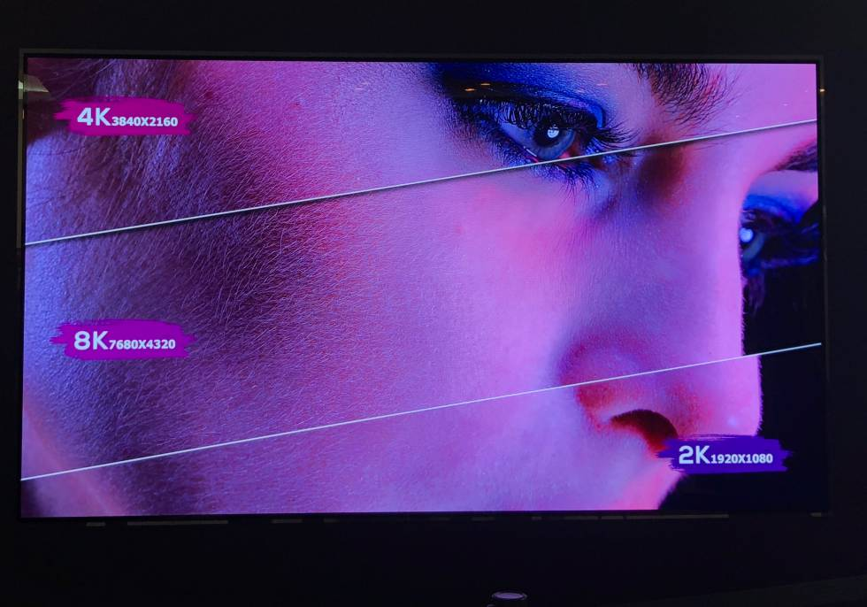 e7dfb43d496 Así es el primer televisor OLED 8K