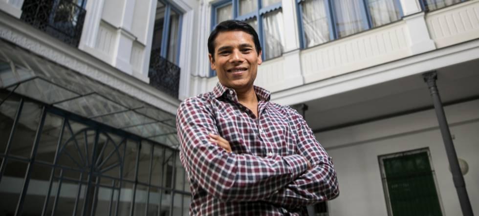 Nirav Tolia, presidente ejecutivo y cofundador de la app Nextdoor, fotografiado en Madrid.