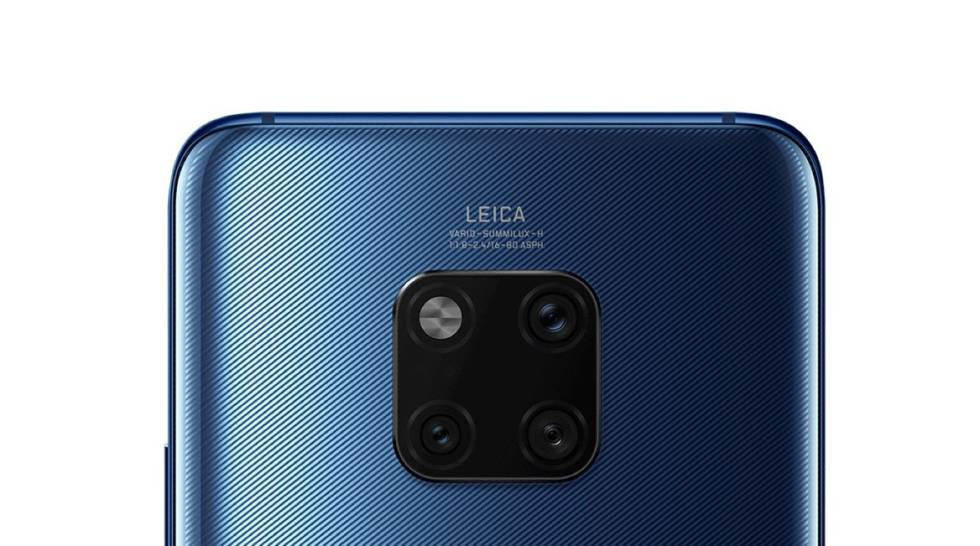Las triple cámara del Huawei Mate 20 Pro.