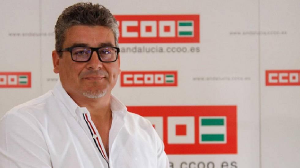 Sergio Santos Romera, secretario de Empleo y Nuevas Realidades Laborales de CC OO.