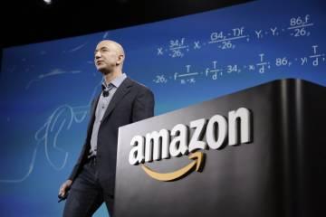 O fundador e executivo-chefe da Amazon, Jeff Bezos.