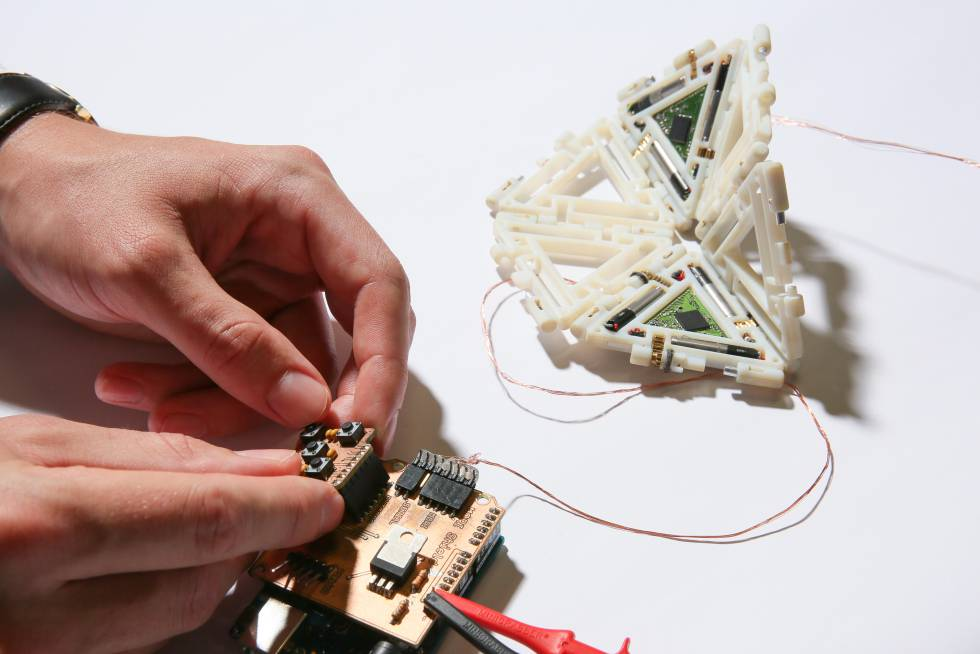 Mori, un robot modular inspirado en el origami.