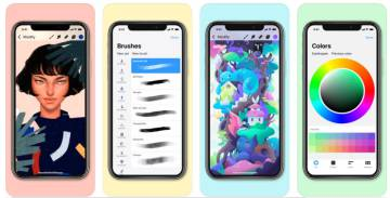 La mejor app del año para iPhone es Pocreate Pocket.