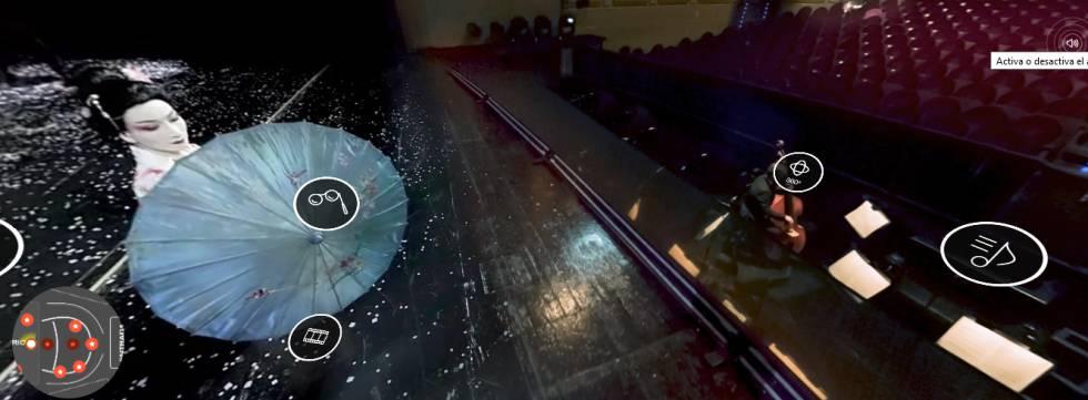 Producción interactiva sobre el Teatro Real de Madrid en lab.rtve.es