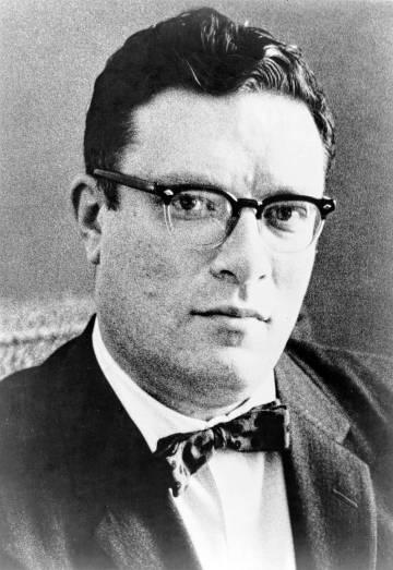 Asimov, en una imagen publicada en 1965.