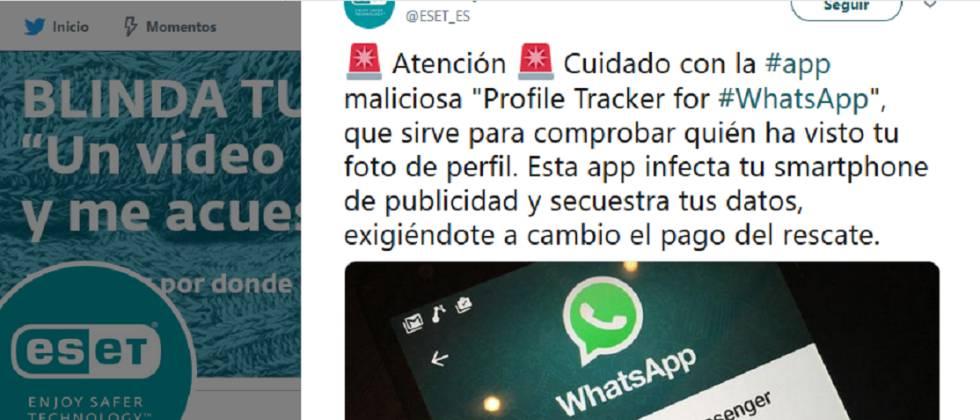 Una App Para Averiguar Quién Ve Tu Foto De Perfil En Whatsapp Roba