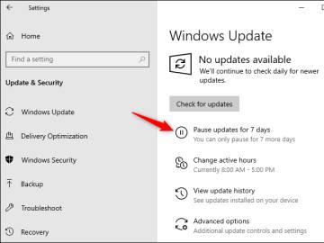 Windows 10 permitirá aplazar las actualizaciones hasta una semana